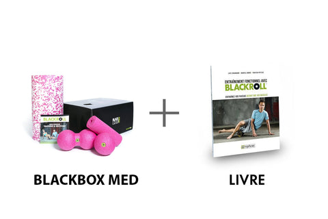 BLACKROLL® BLACKBOX MED SET + Livre BLACKROLL®