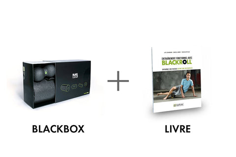 BLACKROLL® BLACKBOX SET + Livre BLACKROLL®