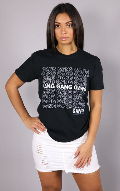 Gang Gang Gang Black T-Shirt T-Shirt Splashy