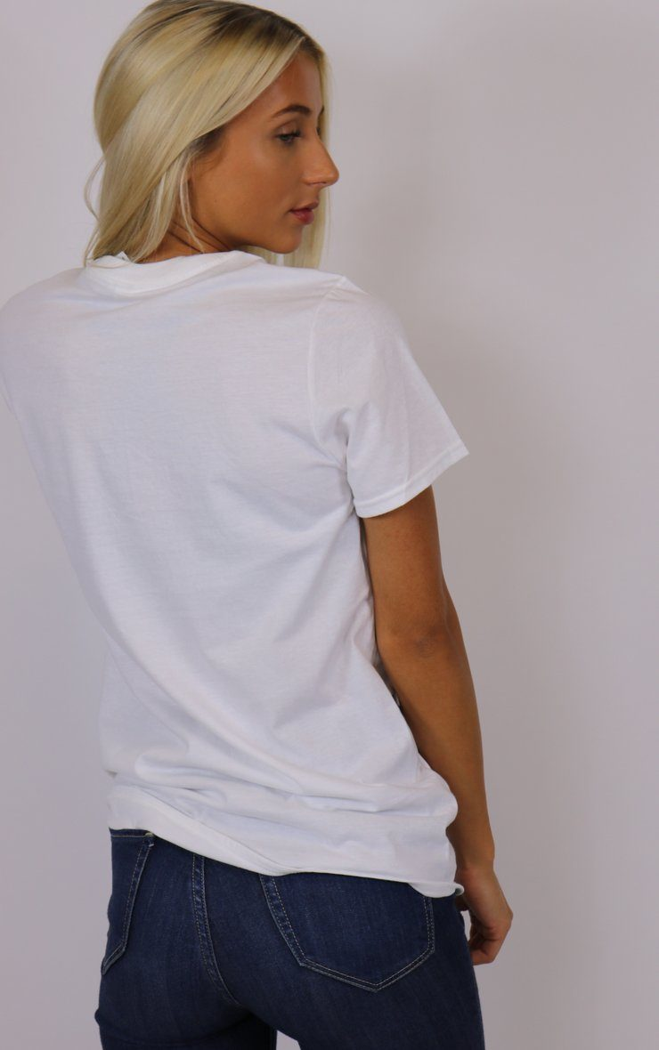 Honey Summer Graphic White T-Shirt T-Shirt Splashy