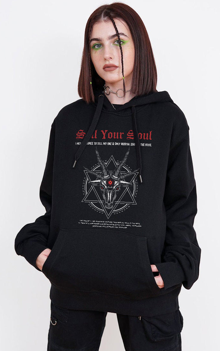 Sell your Soul Devils Contract Black Hoodie