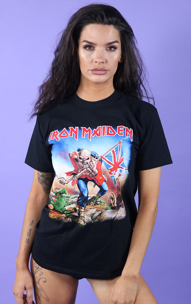 Iron Maiden Trooper Black T-Shirt