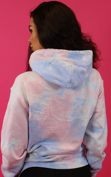 Unicorn Dreams Tie Dye Hoodie Hoodie Splashy