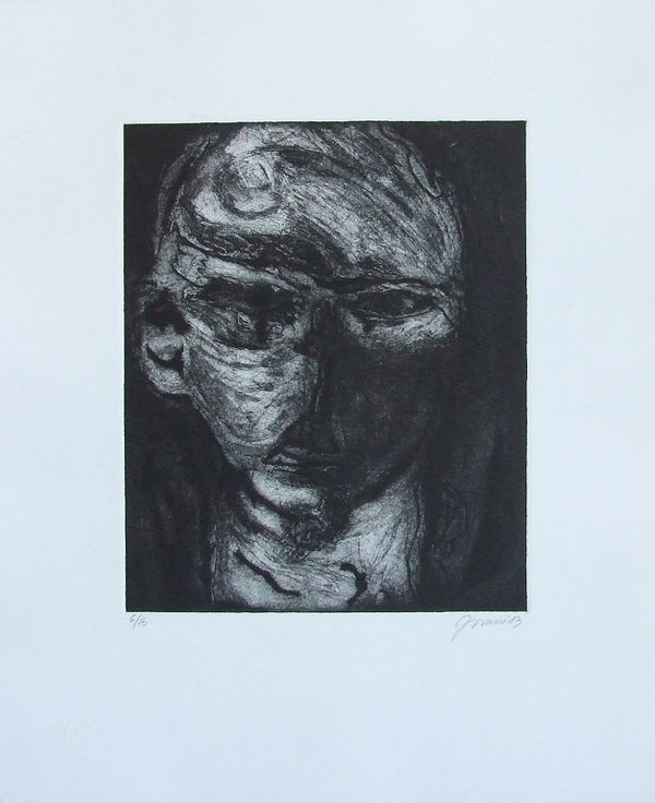 "Yovani BAUTA, ""Untitled 1"", Etching and aquatint"
