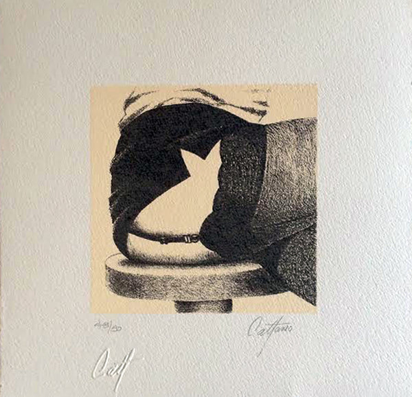 "Enrique CATTANEO, ""Gato I"", Mixed (CAT314)"