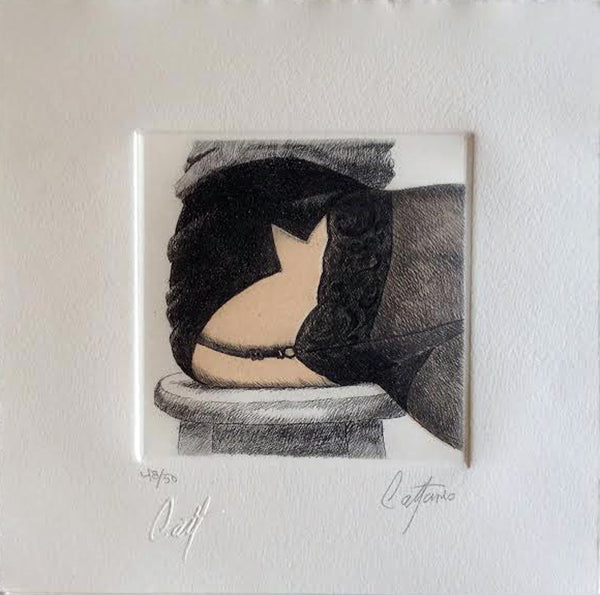"Enrique CATTANEO, ""Gato IV"", Mixed (CAT317)"