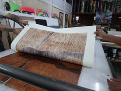"Alberto Castro Leñero, ""Untitled"", Woodcut -CAL102 (Work in progress)"