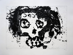 "Sergio HERNÁNDEZ, ""Sin titulo"",  Lithograph with zinc (HER199)"