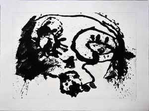 "Sergio HERNÁNDEZ, 200, ""Untitled"", Sin titulo,  Lithograph with zinc"
