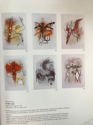 "Wifredo LAM, ""Le feu vert"", 1974, Portfolio with 6 Lithographs, LAM298"