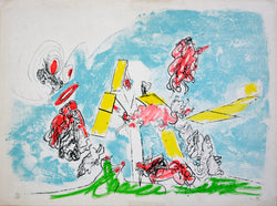 "Roberto MATTA, ""Hecatomb of the Bulls"", plate 5, 1971 -MAT204"