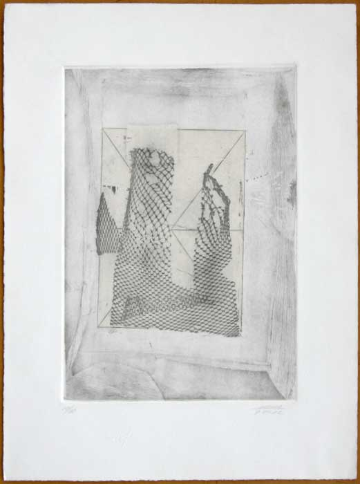 "Alfonso MENA, ""Redes"", Etching (MEN301)"