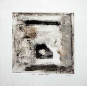 "Rigoberto MENA, #108,""Window to any places"" (Ventana a cualquier lugar), Monotype"