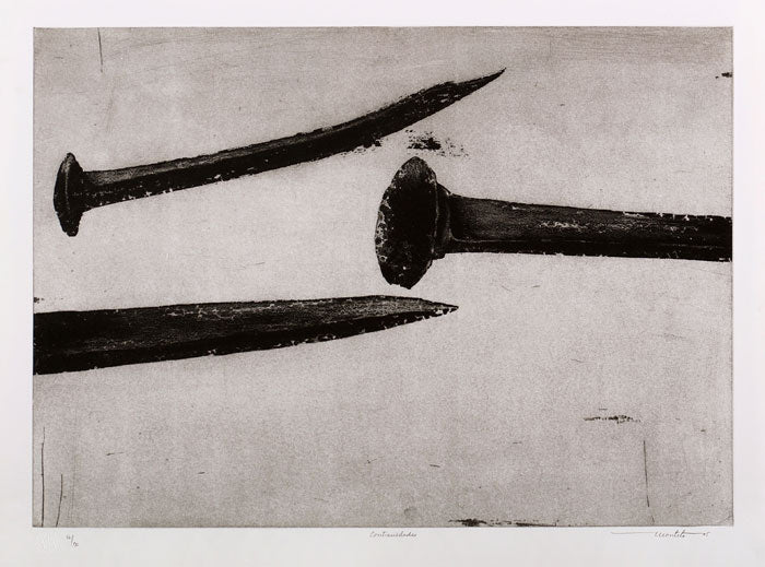 "Arturo MONTOTO, ""Contrarieties"", Etching"