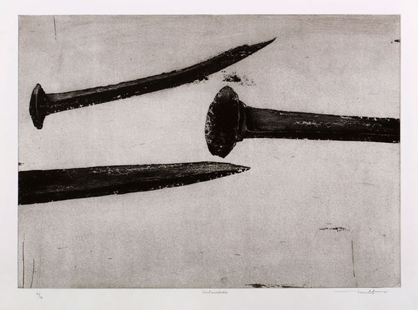 "Arturo MONTOTO, #103 ""Contrarieties"", Etching"