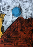 "Bernardo NAVARRO TOMAS, #101, ""Moon of Tepoztlan"" (Luna de Tepoztlan), Etching and aquatint"