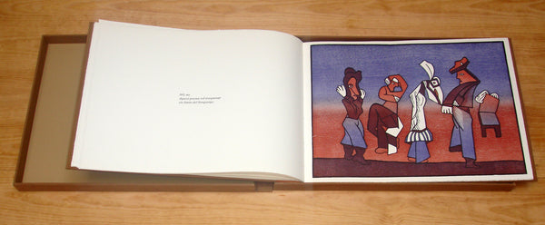 "José Luis CUEVAS and Joan BROSSA, ""Sobre la vida"", Artist book with 8 woodcuts and 6 poems (CUE114)"