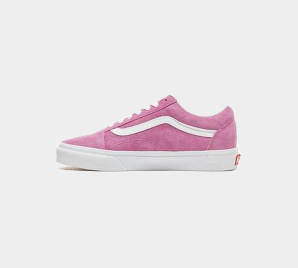 Vans Suede Old Skool Shoes Women's Violet/True White UK 3-9