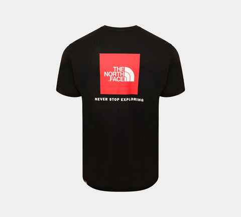 The North Face Red Box Logo Tee Black