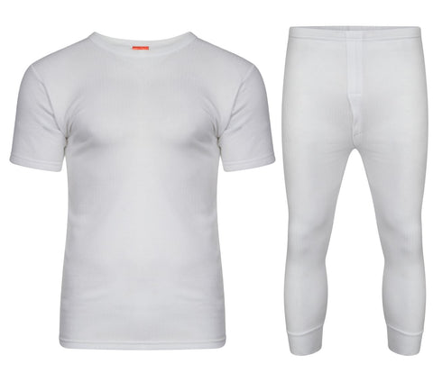 FULL SET WHITE WITH SHORT SLEEVE T-SHIRT