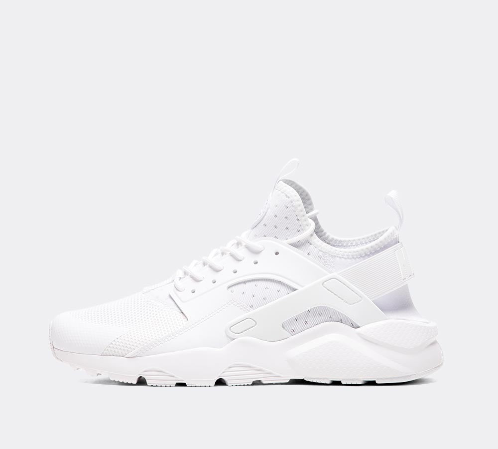 moda tani dobrze out x Nike Air Huarache Run Ultra 819685 101 White UK 7-10