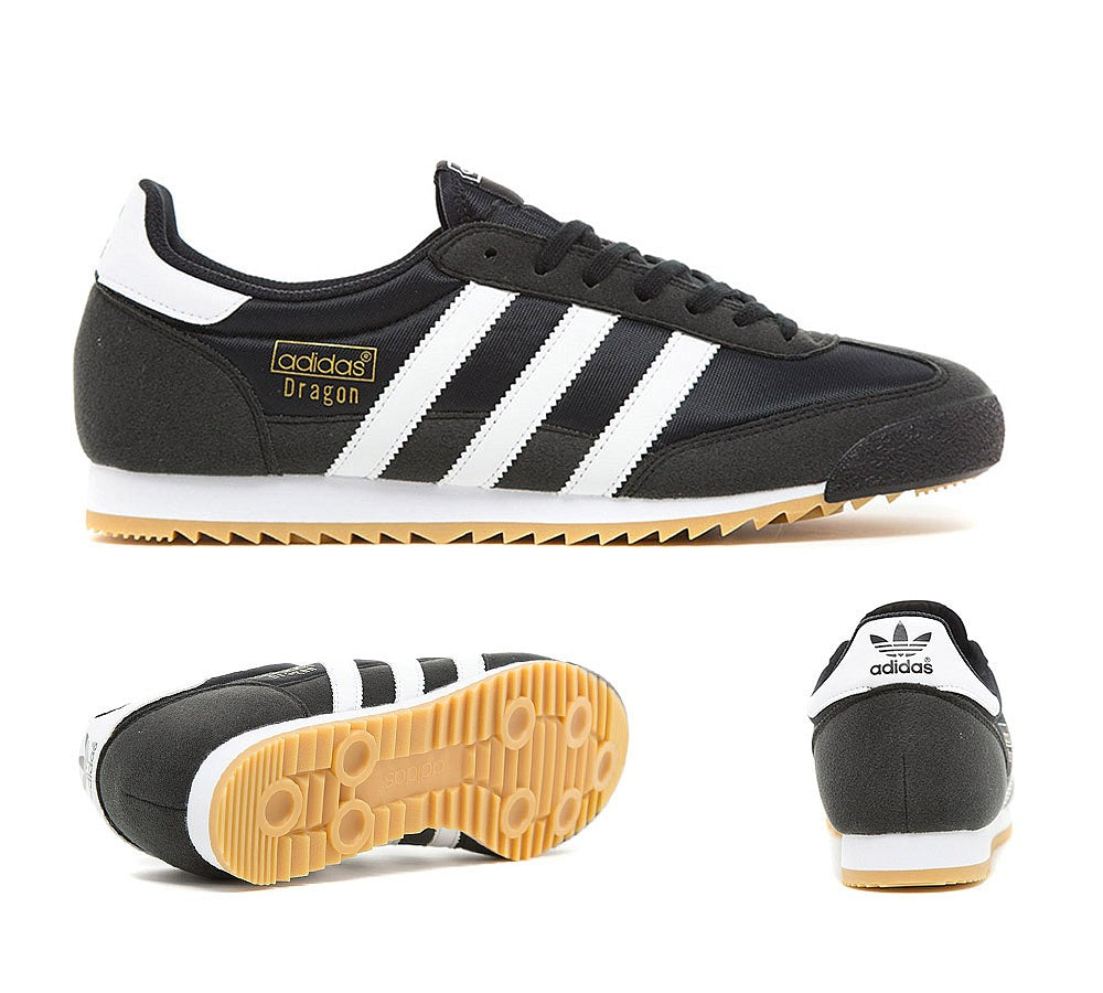 Adidas Originals Dragon OG Trainer Core Black/White/Black