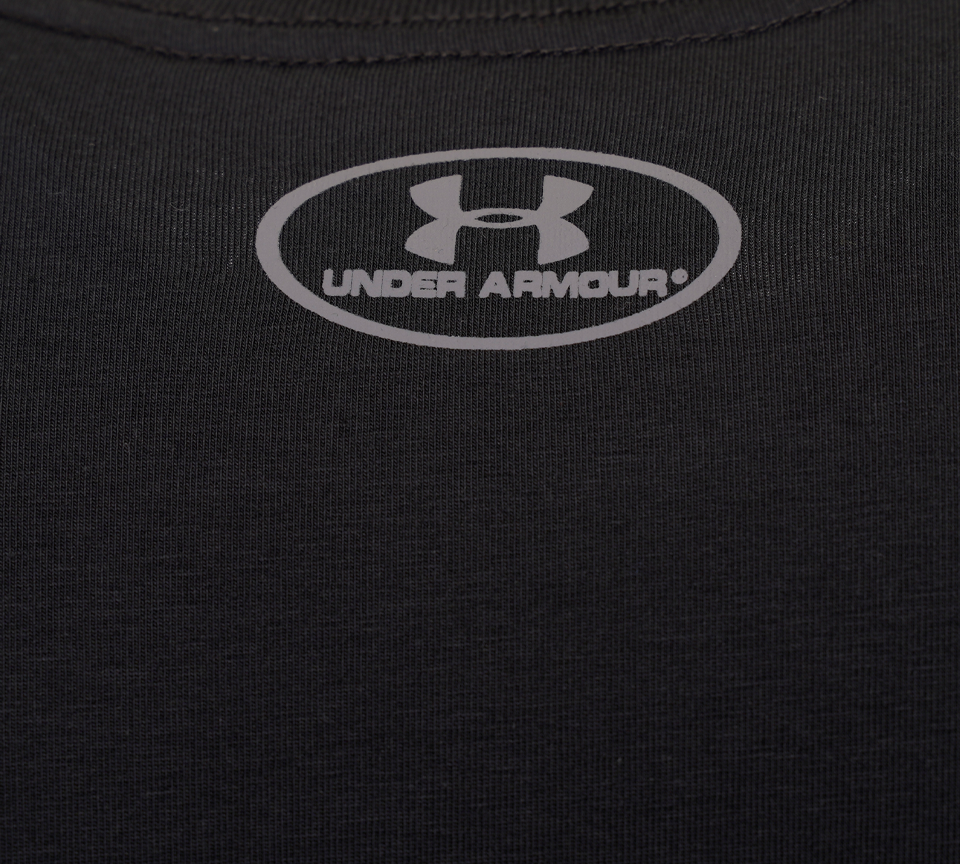 Under Armour Sportstyle Left Chest Short Sleeve 1326799 T-shirt Black