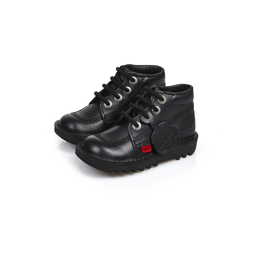 Kickers Kick Hi Core Infants Blk/Blk/Blk 1KF0000408BTW