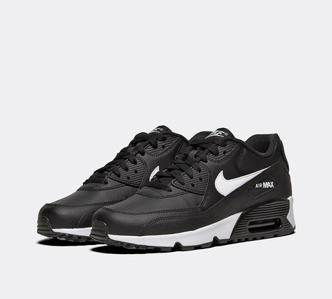 Nike Air Max 90 LTR (GS)  833412 025 Black/White Boys UK3-6