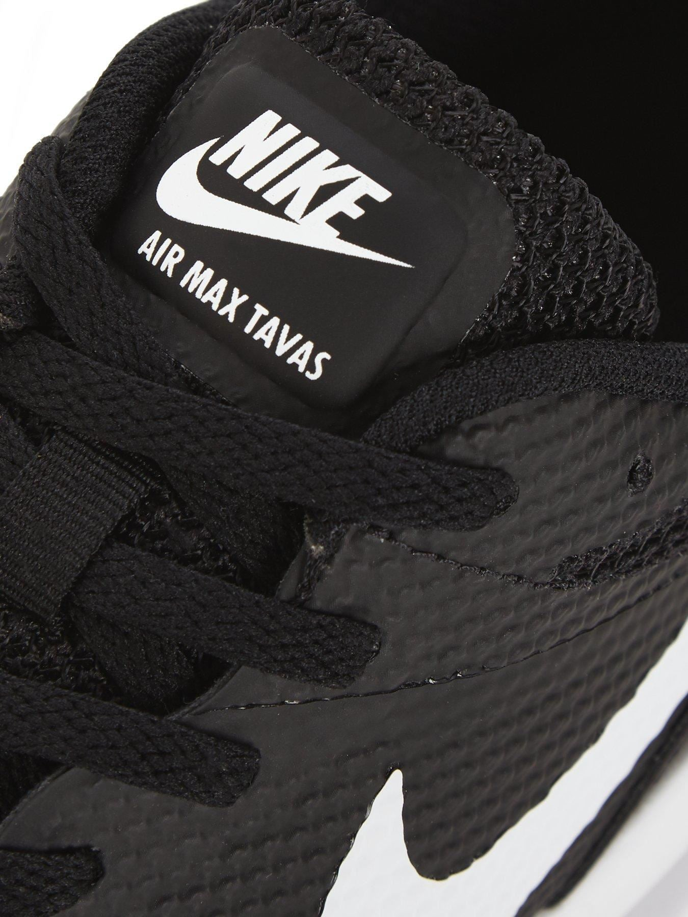 NIKE AIR MAX TAVAS 705149 024 BLACK-WHITE