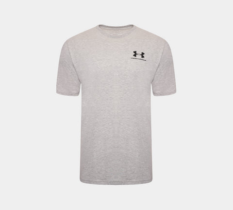 Under Armour Sportstyle Left Chest Short Sleeve 1326799 T-shirt Grey