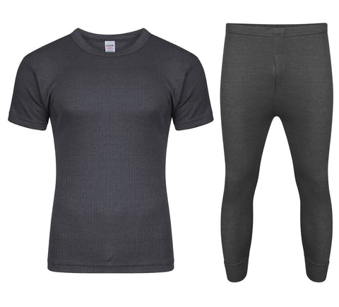 FULL SET GREY WITH SHORT SLEEVE T-SHIRT