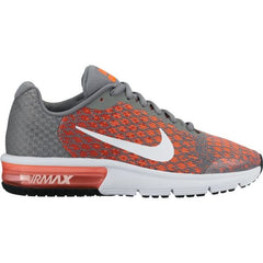 NIKE AIR MAX SEQUENT 2 869993 002 GREY/ORANGE JUNIOR