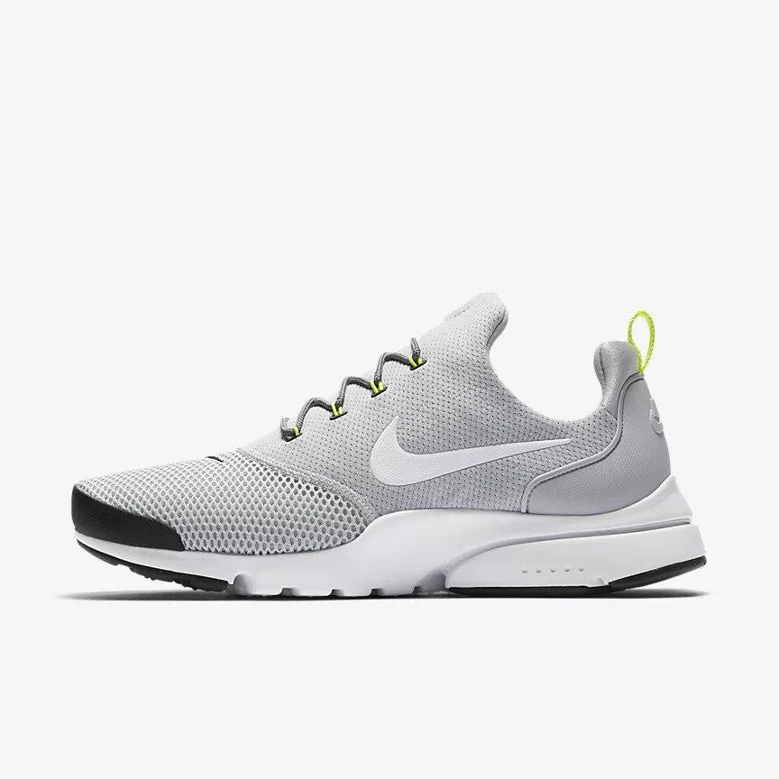 d3f079331ddd NIKE Presto Fly 908019 013 Grey  Black Trainers – ViviFashion