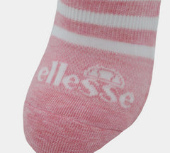 Womens Ellesse LSHEL526STL Socks 3Pairs UK 4-8