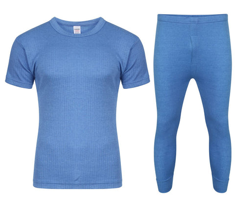 FULL SET BLUE WITH SHORT SLEEVE T-SHIRT