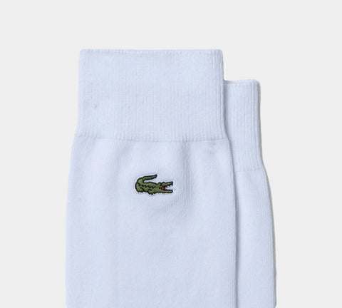 3-Pack Lacoste Cotton Blend RA4744 00 737 Socks White/Green