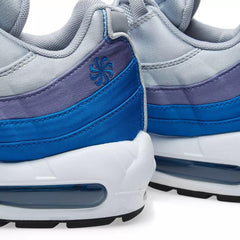 Nike Air Max 95 SE AJ2018 001 Grey/Blue Men's UK 6-11
