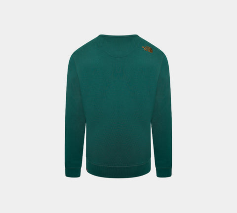 The North Face Drew Peak Crew T92ZWRN3P Sweat Shirt Dark Green
