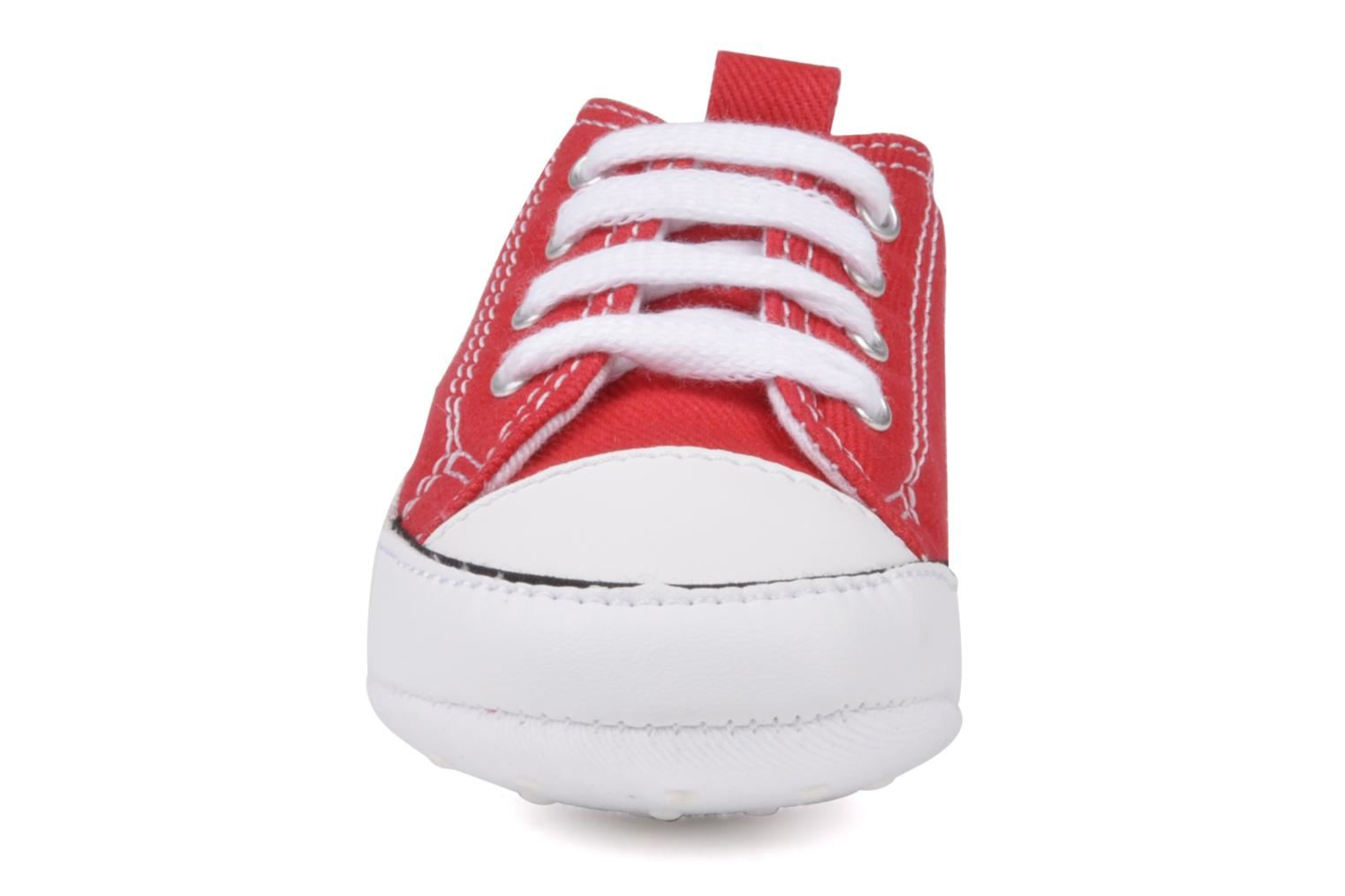 0ef68b0923cb CONVERSE FIRST STAR RED CRIB 88875 – ViviFashion