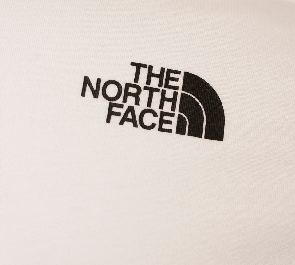 The North Face Large Raised Logo Tee White