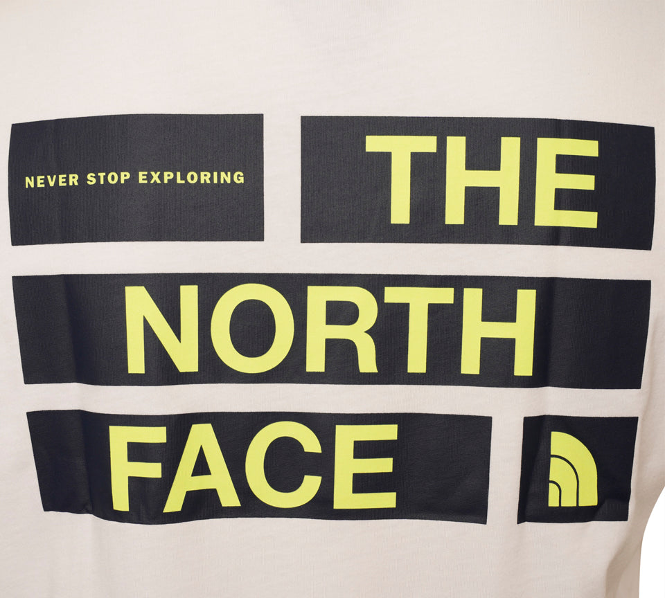The North Face Back Box Logo Tee White
