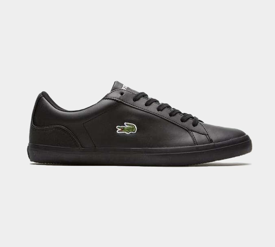 LACOSTE MEN'S LEROND 317 1 TRAINER BLACK UK