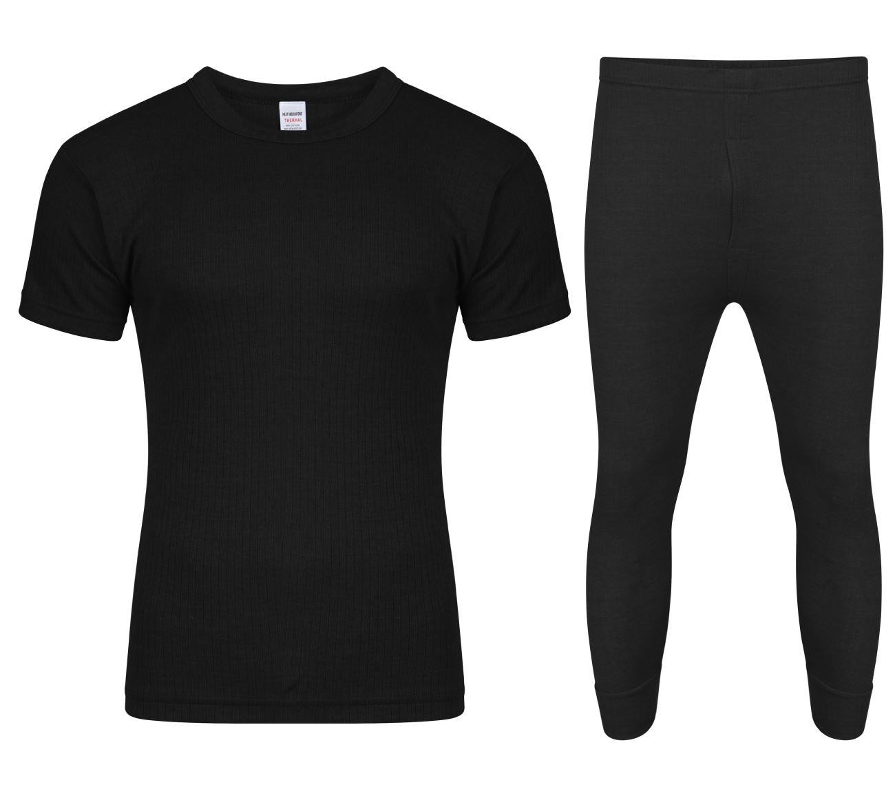 FULL SET BLACK WITH SHORT SLEEVE T-SHIRT