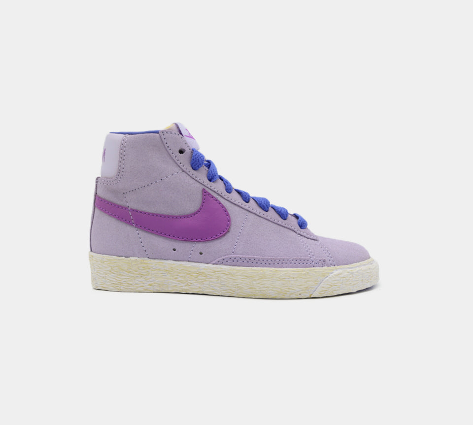 Nike Mid-top Vintage Trainers Purple/Blue UK 10