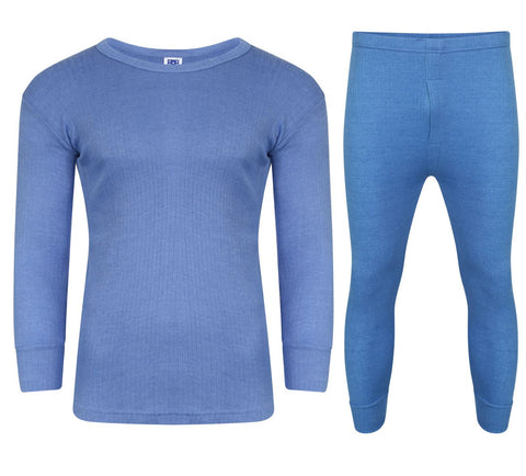 FULL SET BLUE WITH LONG SLEEVE T-SHIRT
