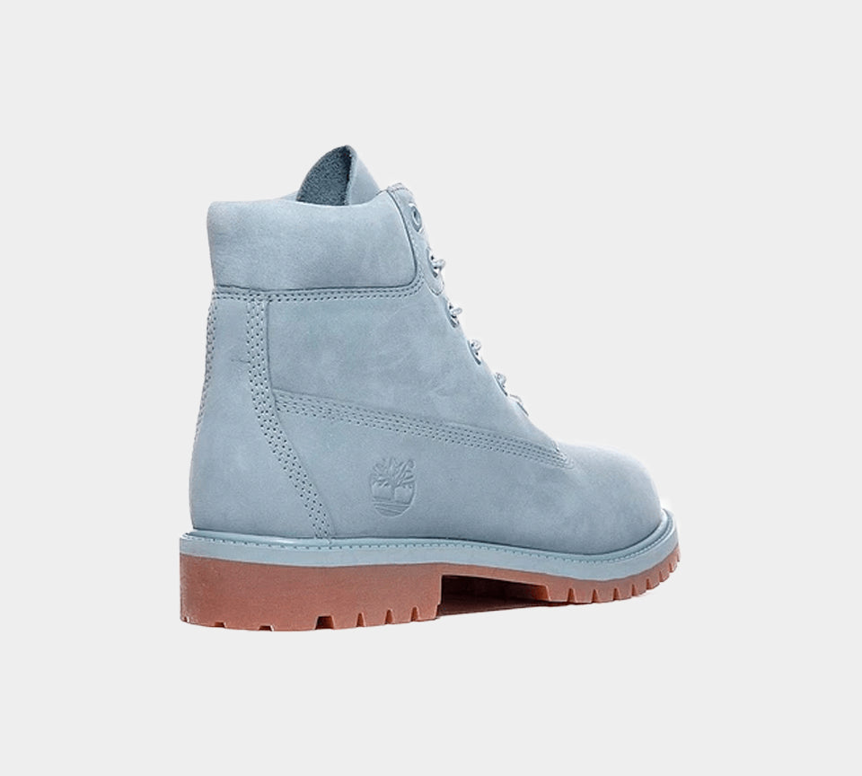 Timberland 6 Inch Premium Boots Shoes Junior Stone Blue A1K4Q UK 3-6.5
