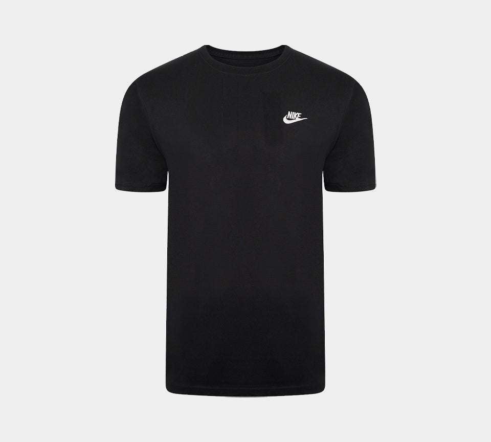 Nike Swoosh Futura Men's T-Shirt Black S-2XL