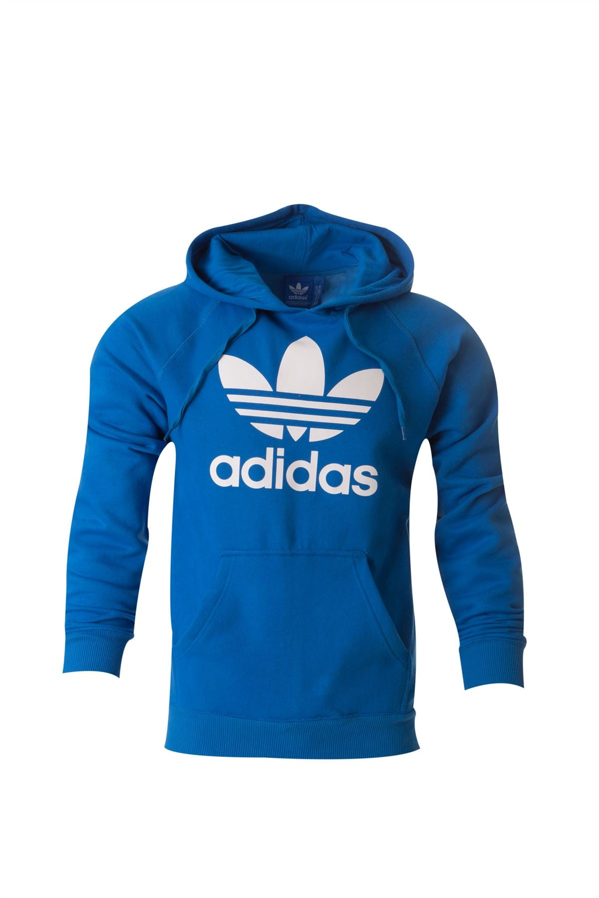 Adidas Originals Trefoil Cotton Casual Hoodie Hooded Shirt All Size S M L XL Blue