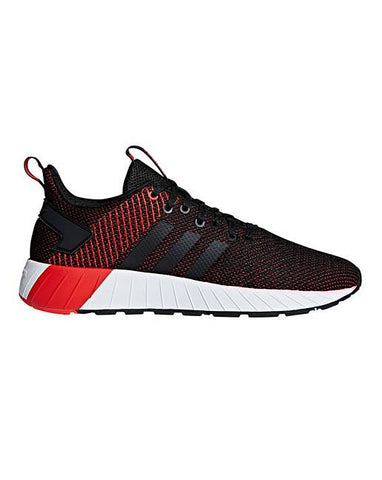 Adidas Questar BYD F35041 Black Red UK 6-11